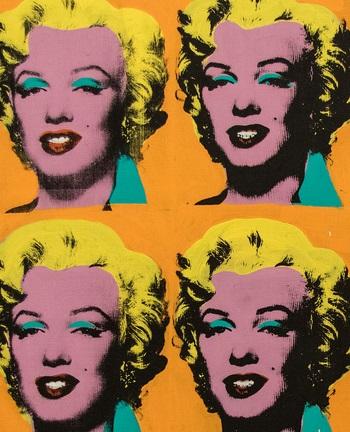 Andy Warhol - Marilyn Diptych, 1962. Tate Modern, Londra