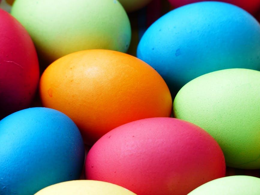 La Pasqua si tinge di creatività