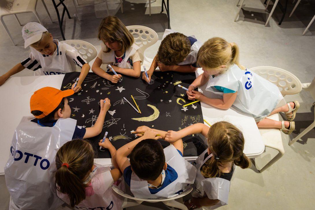 GIOTTO alla Biennale Arte 2017, </br>per dare forma alla creatività