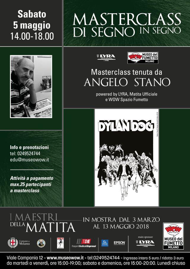 Masterclass Angelo Stano