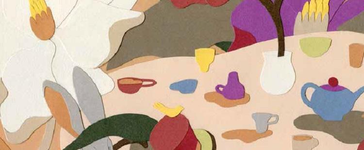 Un'estate a regola d'arte: il collage