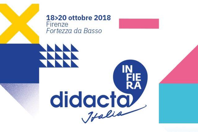 Appuntamento a Firenze per DIDACTA, </br>la fiera della scuola