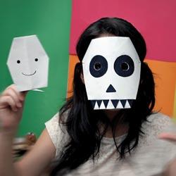 Halloween-maschera