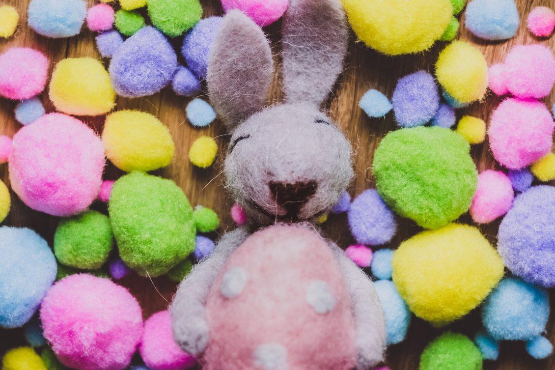 Pasqua creativa, con i coniglietti di primavera