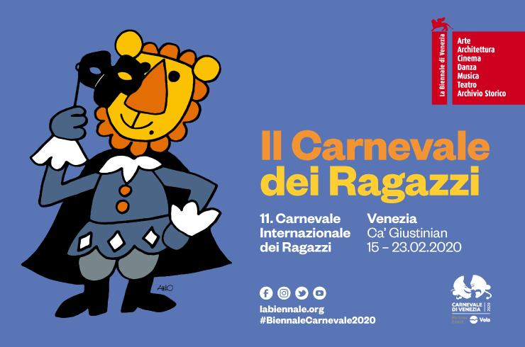 GIOTTO a fianco della voglia di creare e sperimentare all'11. Carnevale Internazionale dei Ragazzi della Biennale di Venezia.