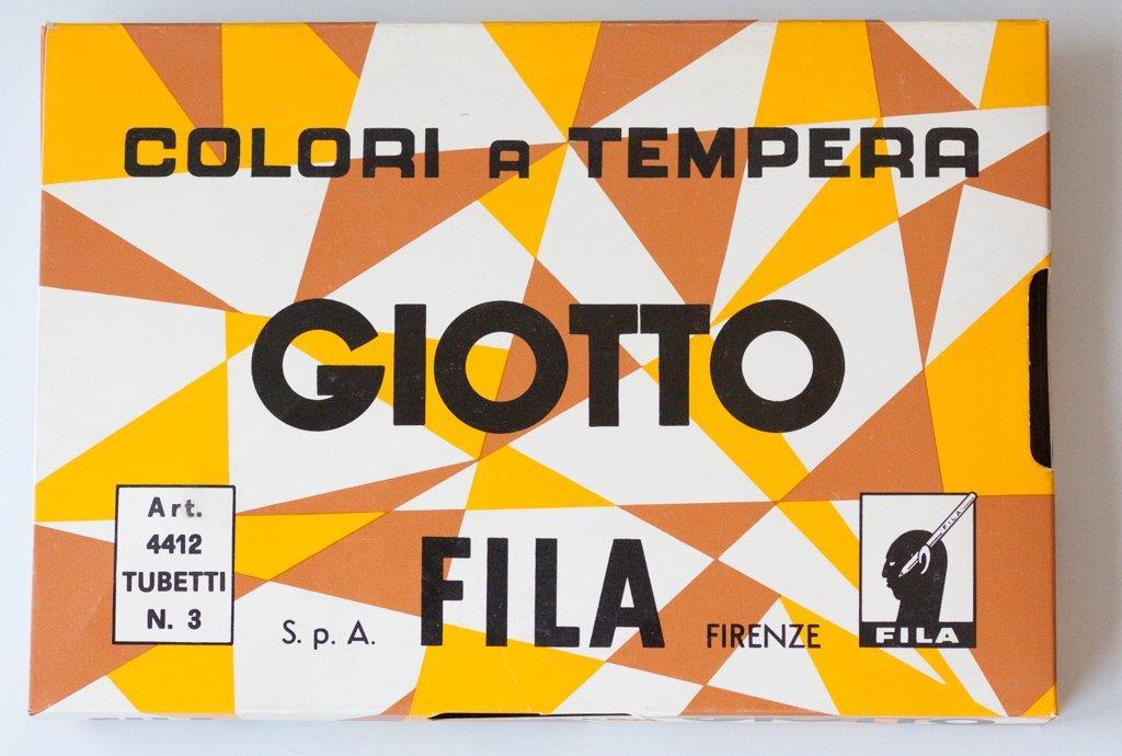 colori a tempera Giotto 23 x15, 5 x3