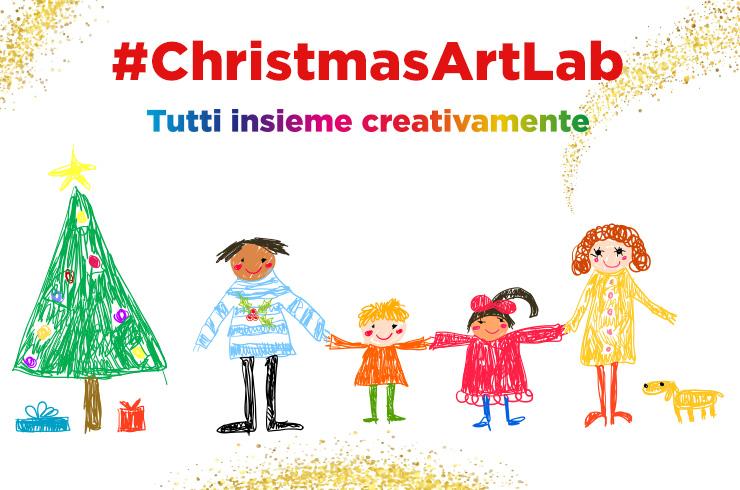 #ChristmasArtLab