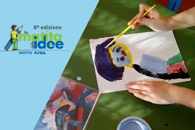 Premio GIOTTO La Matita delle Idee: la creatività come gioco liberatorio.
